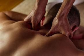 Back and neck massage just for men